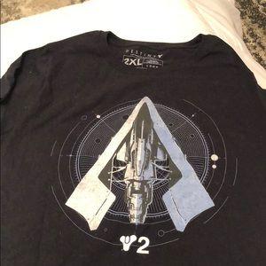 Brand new Lootcrate Destiny t shirt